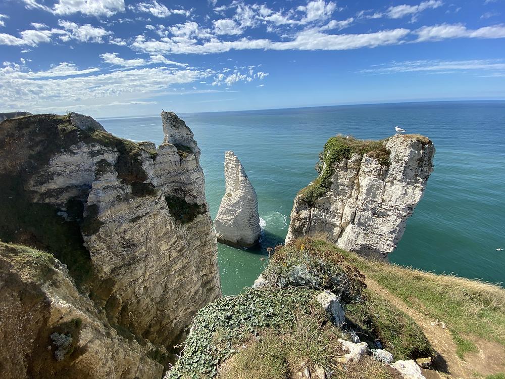 Aiguille Etretat Falaise Normandie