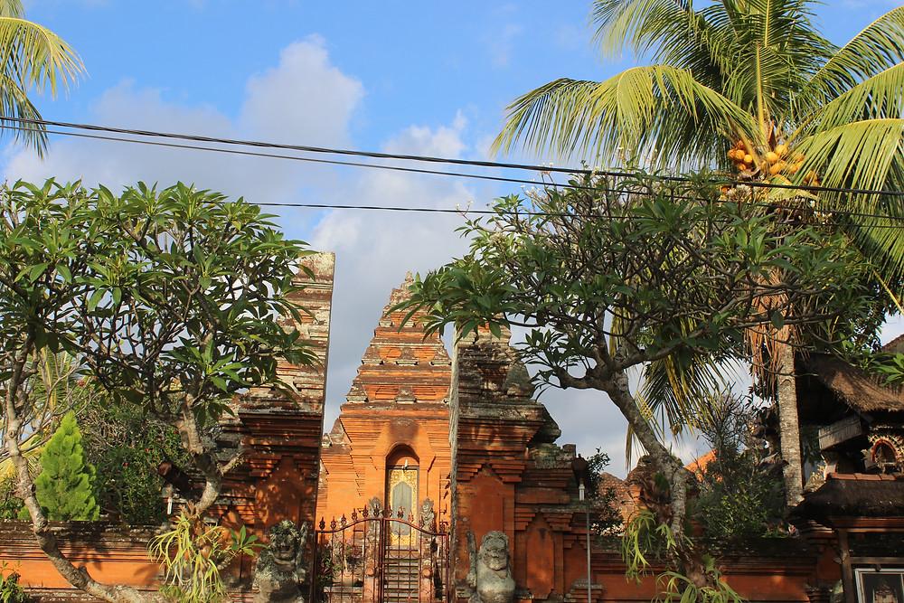 Ubud temple Bali Indonesie