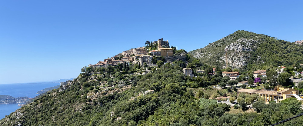 Panorama Eze village