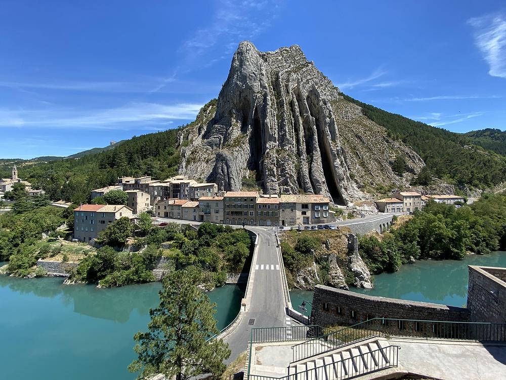 Rocher de la Baume Sisteron