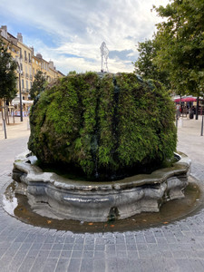 fontaine moussue aix en provence