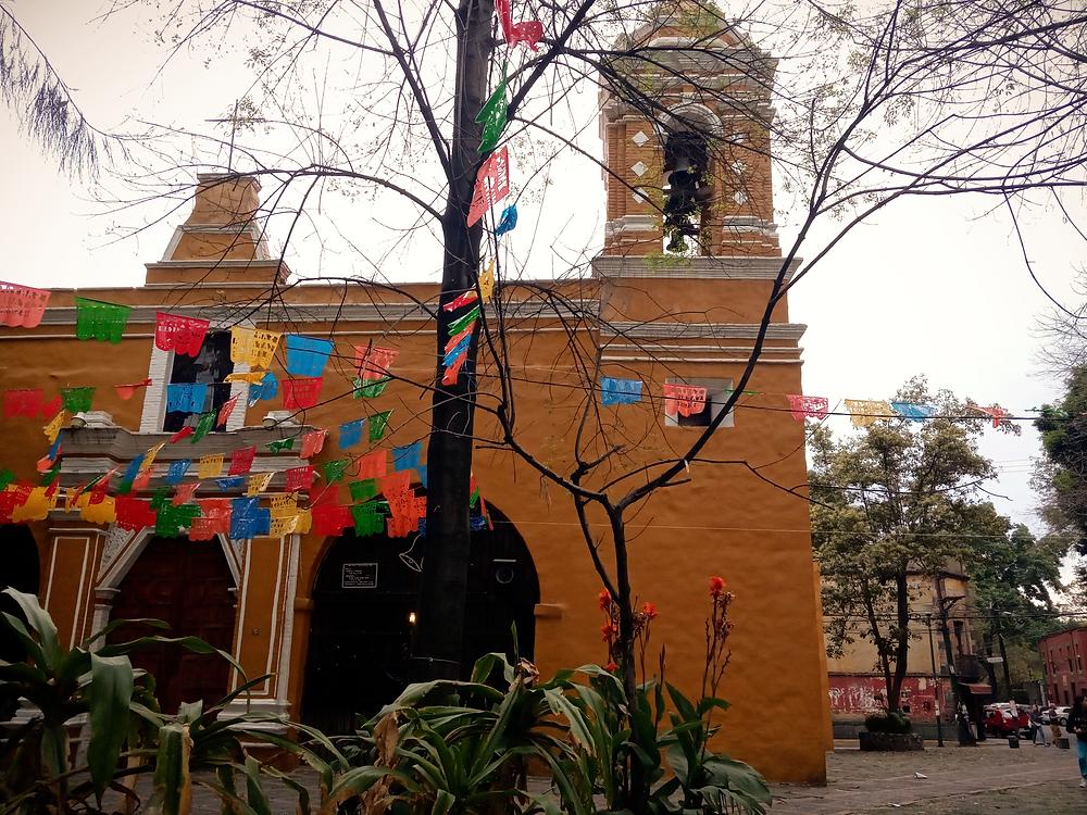 Les couleurs de Coyoacan