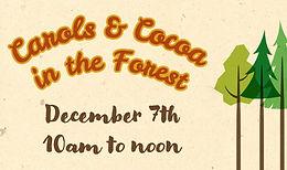 Carols and Cocoa Coming Up!