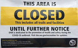 DNR Lands Closed Statewide
