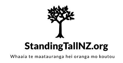 A logo of StandingTallNZ.org