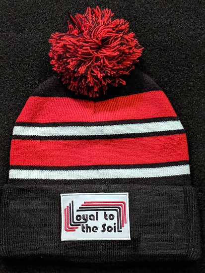 Loyal To The Soil Stripe Beanie