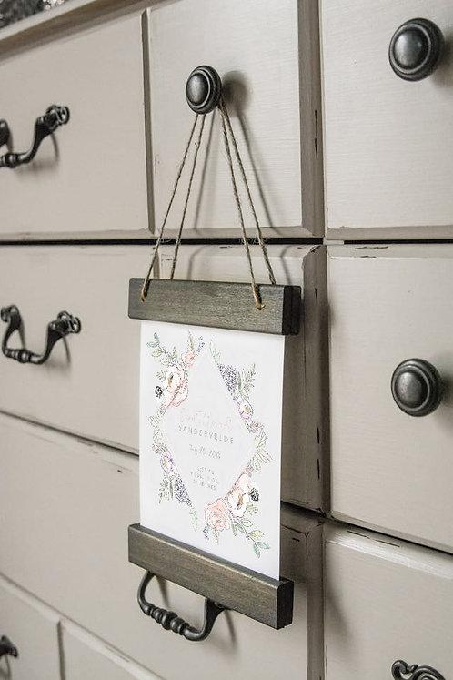 Custom Hanging Print
