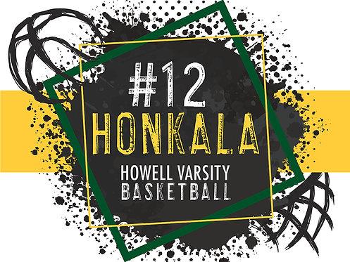 HHS Basketball Yard Sign