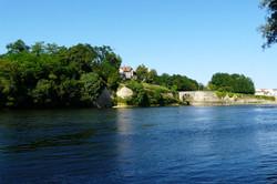 Overlooking the Dordogne
