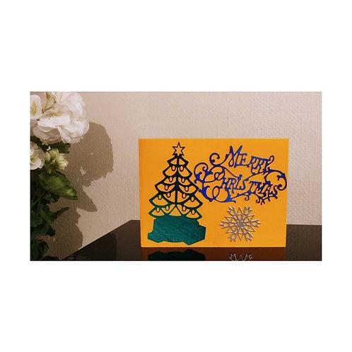 Christmas card, carte de noël