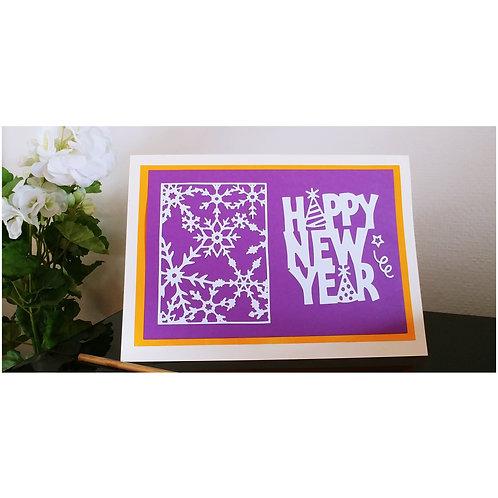 copie de Carte joyeuses fêtes de fin d'année
