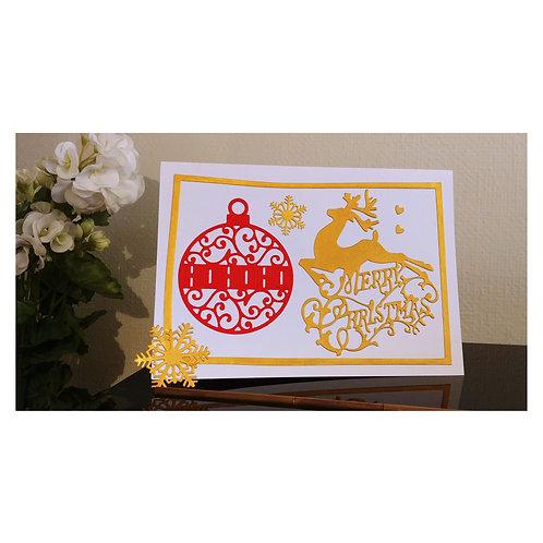 Carte de vœux, carte de noël