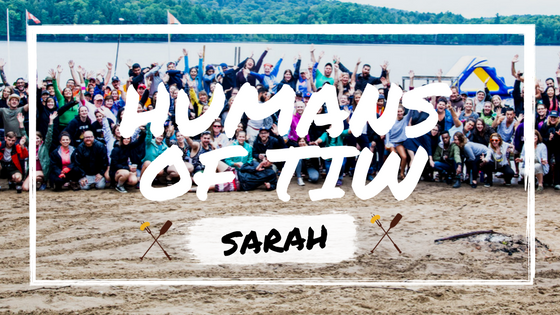 Humans of TIW: Camper Sarah