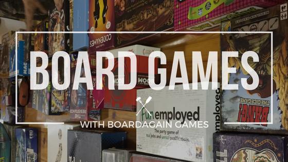 TIW Experience: BoardAgain Games
