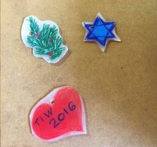 Shrinky Dinks at Camp