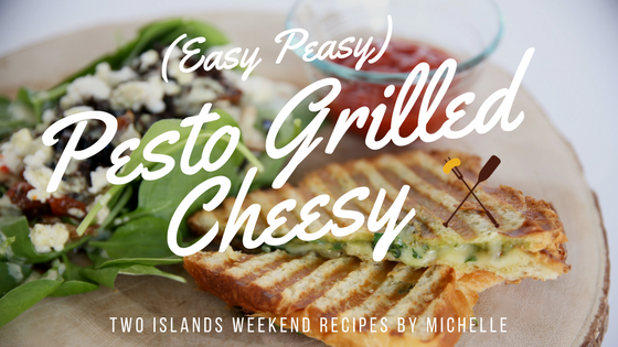 TIW Eats: Pesto Grilled Cheese