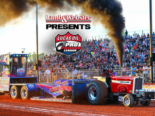 Lamb & Webster Present The Lucas Oil Tractor and Truck Pull On The High Banks On July 24, 2021
