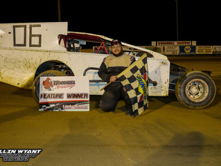 Ryan Tracy Wins First Ever Insinger Performance Modified Feature