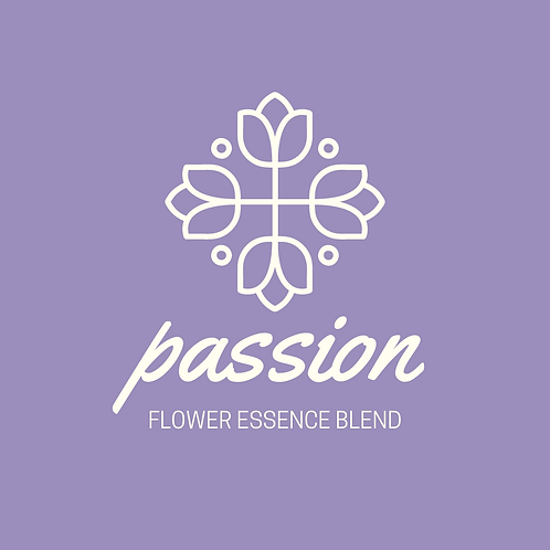 Passion Flower Essence Blend