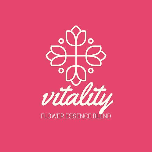Vitality Flower Essence Blend