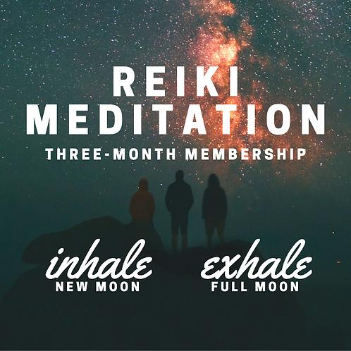 Reiki Meditation membership - 3 months