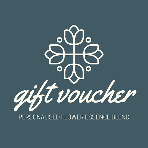 Personalised Flower Essence gift voucher