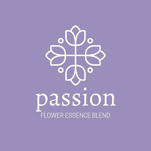 Passion Flower Essence Blend