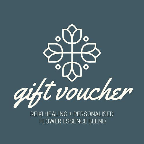 Reiki + Personalised Flower Essence gift voucher