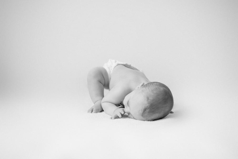 Nashville classic baby photographer