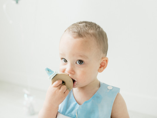 Nashville Baby Photographer | Jackson's Cake Smash