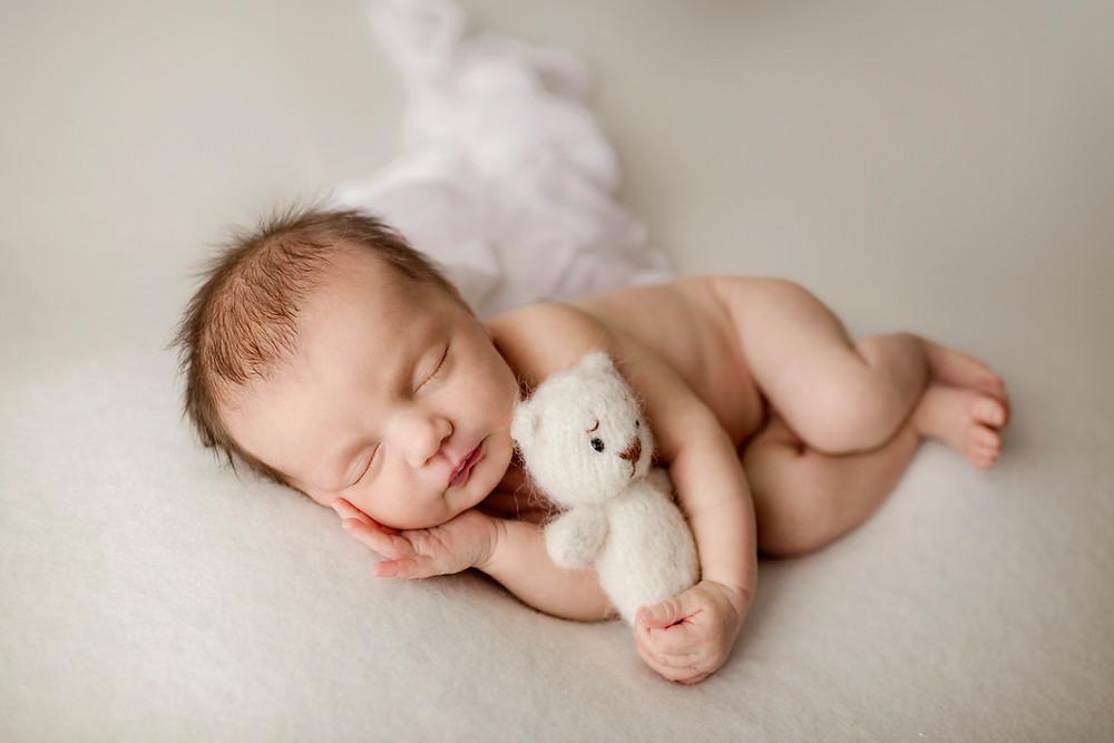Newborn photography studio in Nashville
