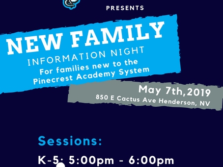 New Family Information Night