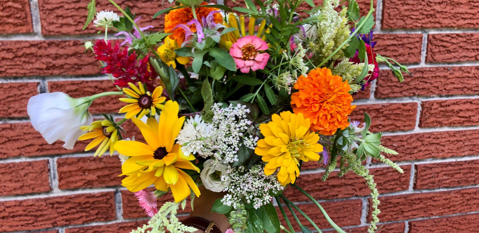 summer mixed bouquet