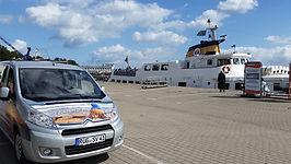 Schifffahrt zu den Kreidefelsen des Nationalparks Jasmund und Sassnitzrundfahrt