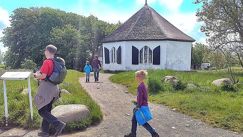 Kapelle im Fischerdorf Vitt nahe Kap Arkona