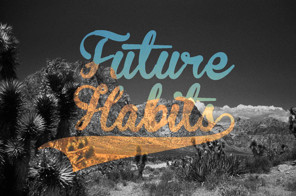 Cover art for GoodCopGreatCop's single 'Future Habits'