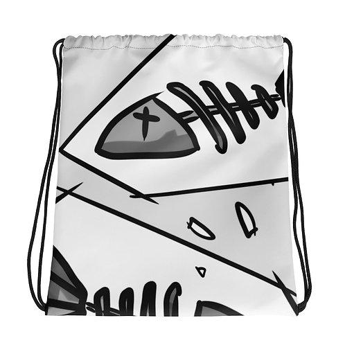 Fishbone - Drawstring bag