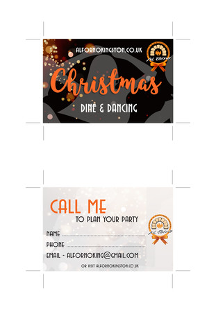 Business Booking Card