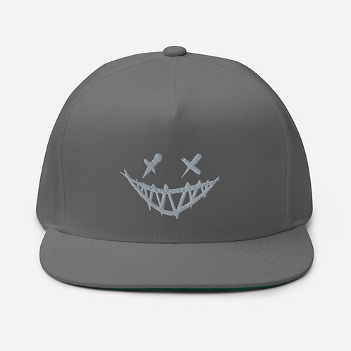 Creepy Smile - Flat Bill Cap