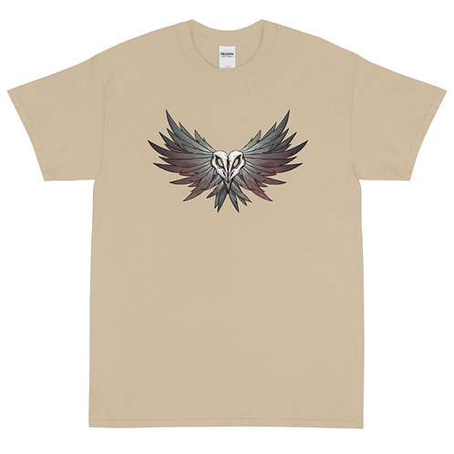 CROW Skull - Short Sleeve T-Shirt