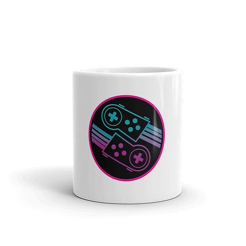 DYNAMYTE White glossy mug