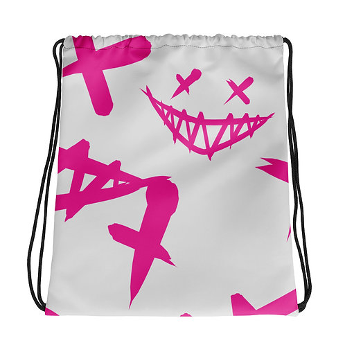 Creepy Smile - Drawstring bag