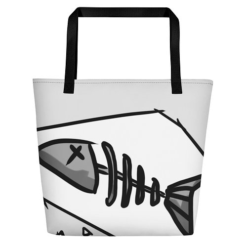 Fishbone - Beach Bag