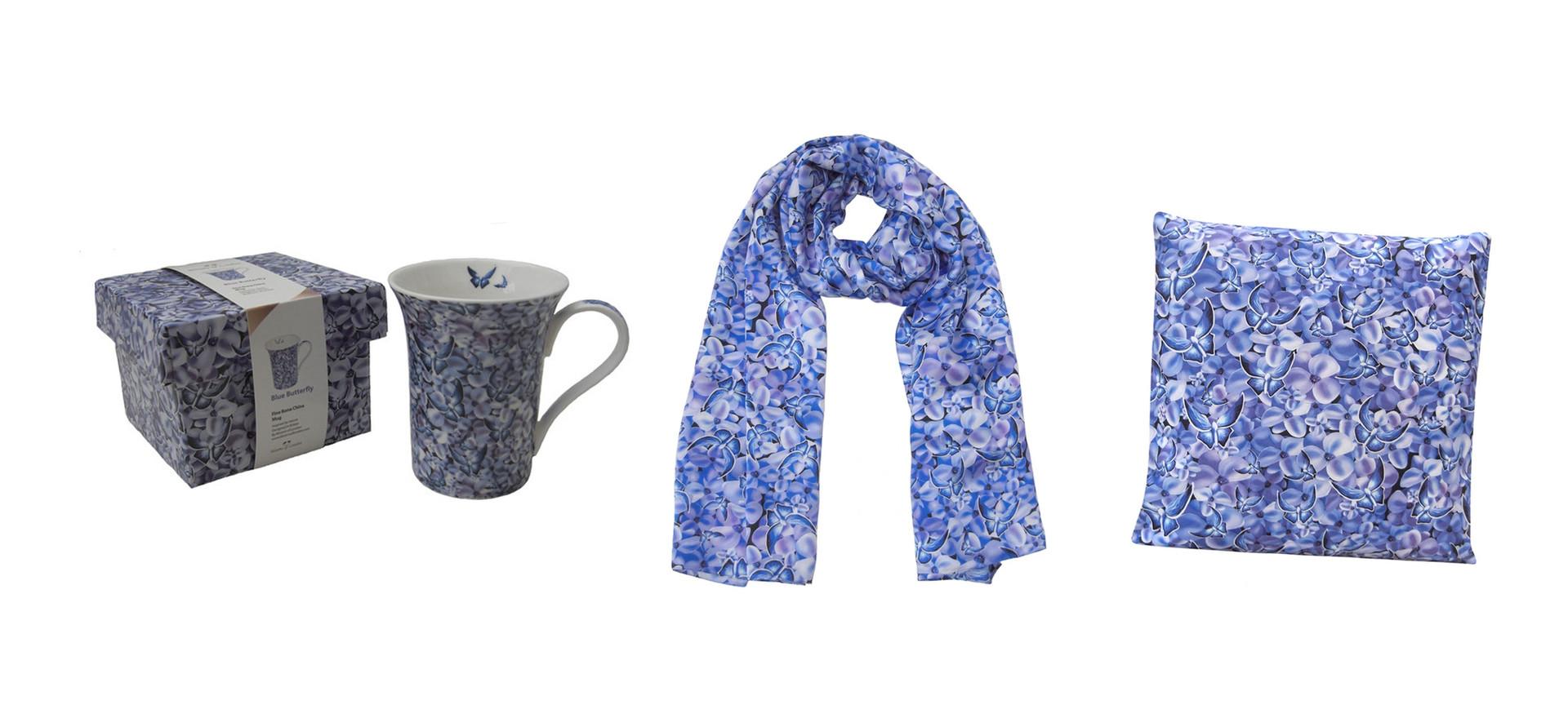 Blue Butterfly Design