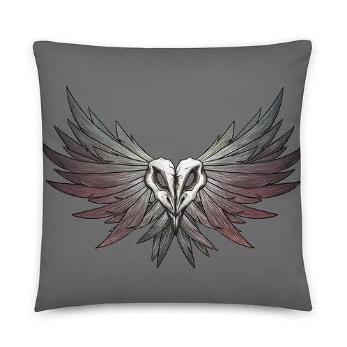 SKULL Crow - Pillow