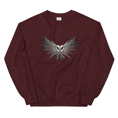 SKULL Crow - Unisex Sweatshirt