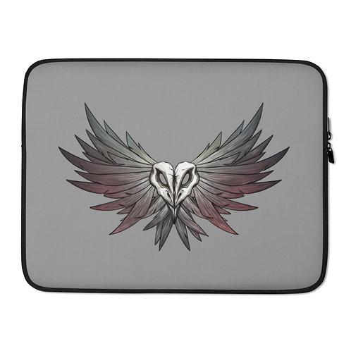 SKULL Crow - Laptop Sleeve