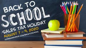 2020-21 School Supply List & Sales Tax Holiday Information