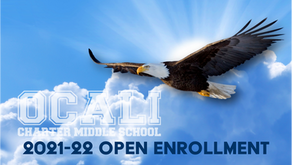 New Student Open Enrollment for 2021-22 School Year Information