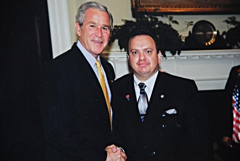 w/ PRESIDENT GEORGE W. BUSH